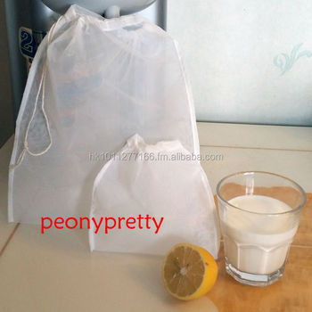 Quality Reusable Nylon Seed Nut Milk Mesh Bag Tea Juice Herb Spouting Raw Food Whole Brew Wine Tool Filter Strainer