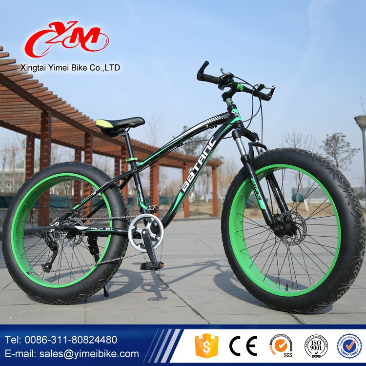 26 Inch New Design Mtb Bike Hot Sale Mountain Bike Fat Tire Alloy