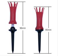Flexible Golf Tee, Zero Friction golf tee