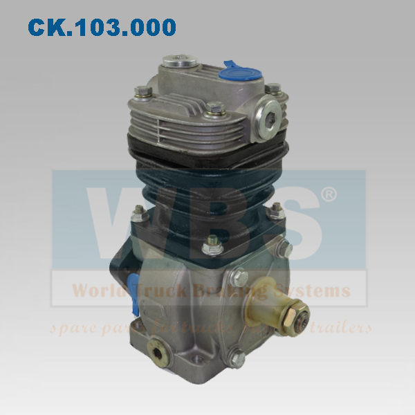 Mercedes OM362LA Air Brake Compressor