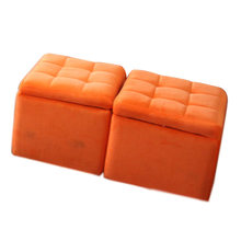 Popular storage seat stool box