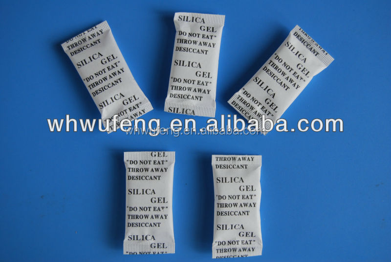 Environmental friendly desiccant with high absorption silica