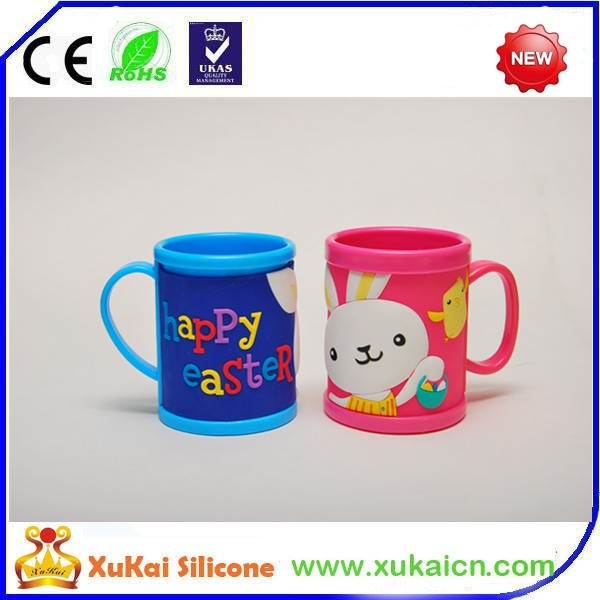 soft pvc mug cup for gifts with good price and quality