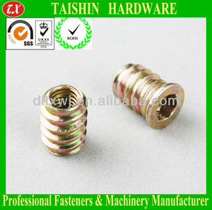 Hexagon Socket Washer Head Inside and Outside Thread Hollow Screw with Hole