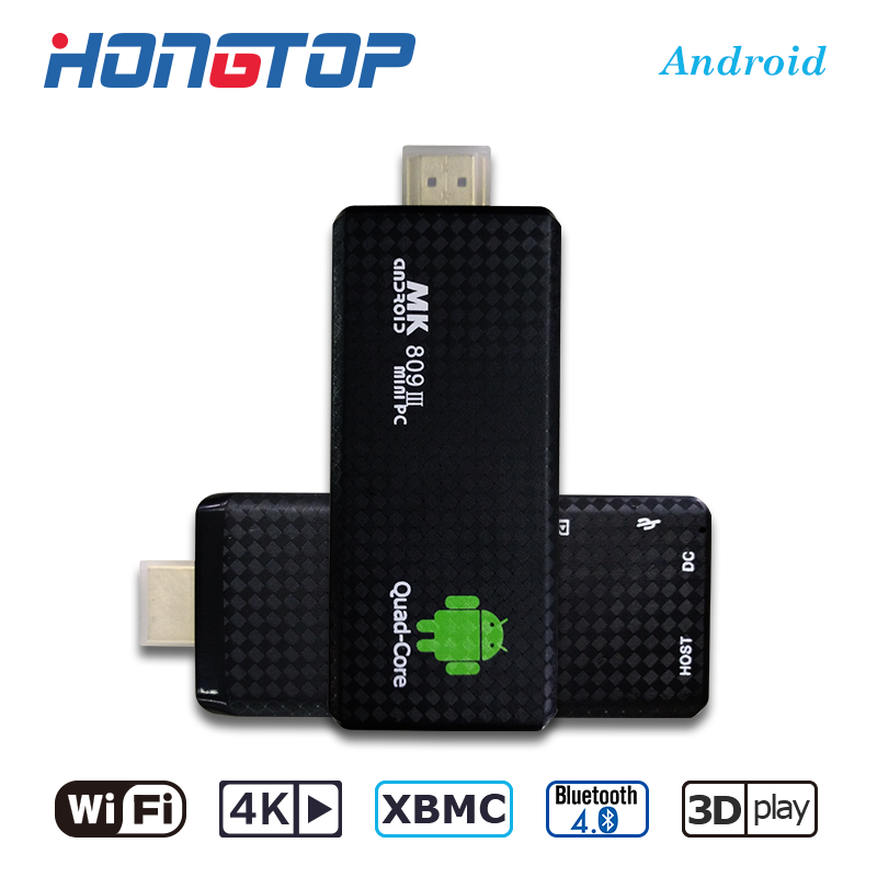 ADD ONS Pre-installed Online Update MK809III <strong>TV</strong> BOX RK3229 Quad Core Android5.1 4K 2GB8GB XBMC Miracast 3D