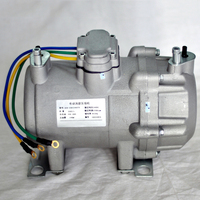 automotive air conditioning system 24 48vdc ac compressor for car