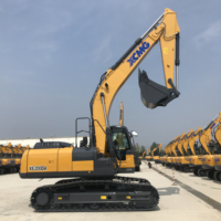 Widely Used XCMG Heavy Construction Equipment 21 ton Micro Digging Crawler Excavator XE215C