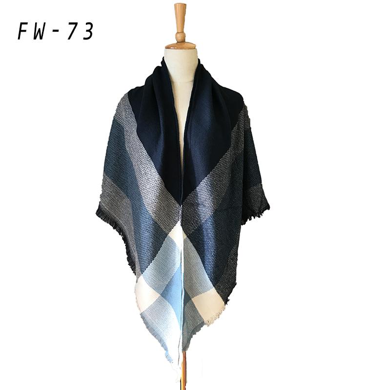 Venta al por mayor bufandas tejidas largas-Compre online los mejores ...