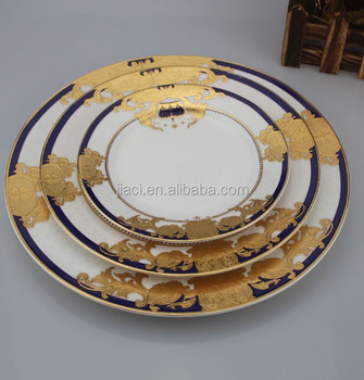 Antique Style Porcelain Wholesale Dinner Set In Factory