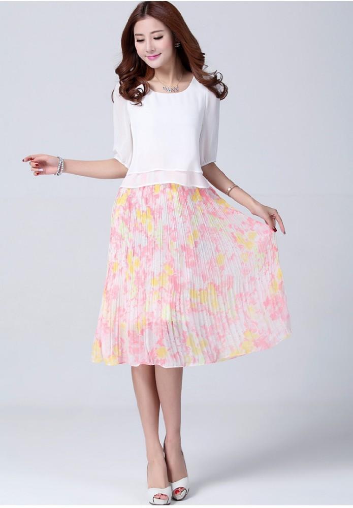 3fcee21cb Buen precio de la alta calidad 2015 más nuevo vestido coreano nueva moda de  señora Dress