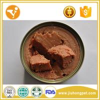 Oem Healthy Halal Pet Treats Beef Meat Pet Canned Food