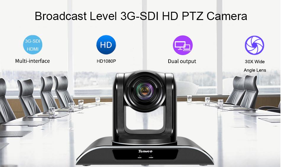 2.38MP 108OP Geavanceerde video conferencing, USB plug en play camera VHD30N