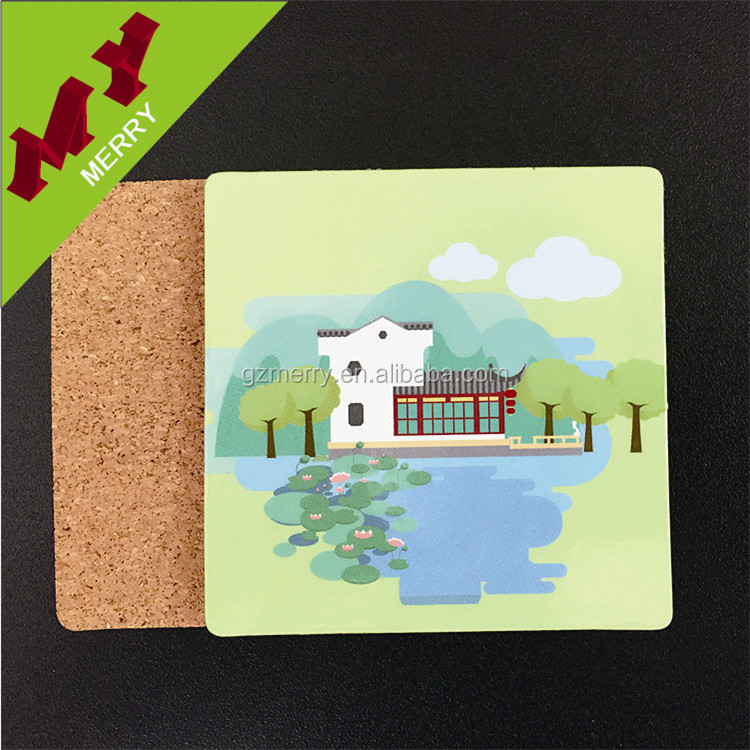 Best quality blank drink wood coaster for gifts