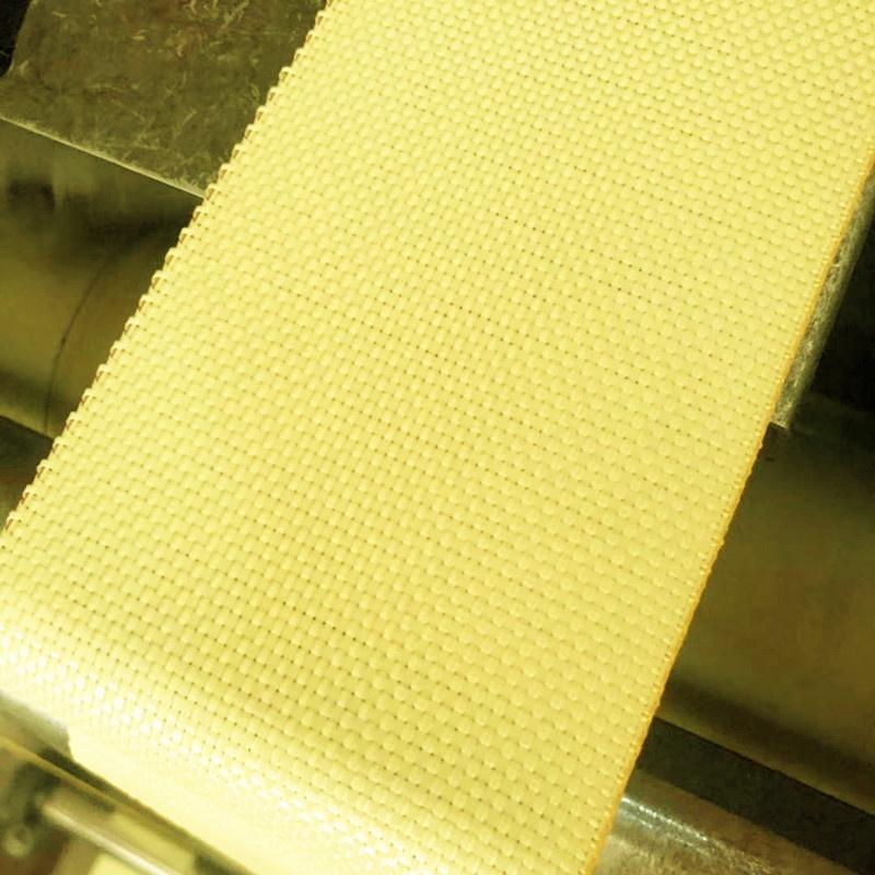 high strength quality factory 100% para 1500D 270g yellow aramid fiber tape price for sale