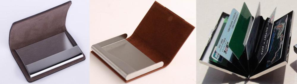 Hot Sale Stainless Steel Business Card Holder Metal Card Holder