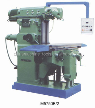 Ram Type Milling Machine M5750b/2 - Buy Ram Type Milling ...