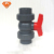 Hot sell china supplier plastic material PPR ball valve with/without steel core