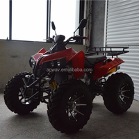 New design adult 250cc 4x4 gas atv 4 wheeler quad bike for sale