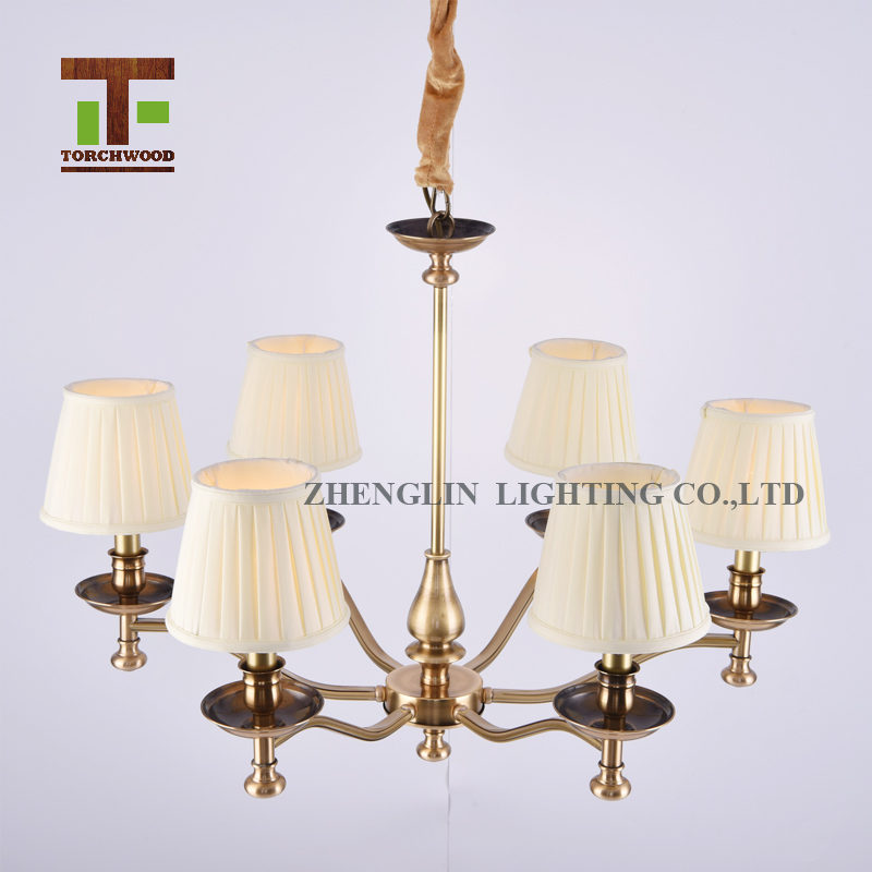Modern Lighting Malaysia Philippines Fabric Chandelier For Hotel ...