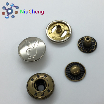 NCS High Quality custom metal spring snap button for clothes
