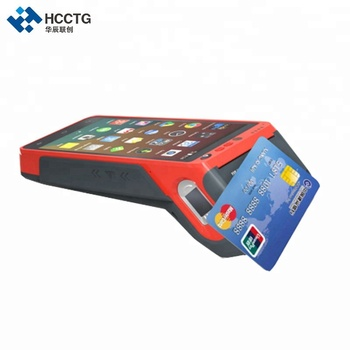 High Quality Android Smart POS Portable Electronic Bill Payment Machine With Barcode Scanner HCC-Z100