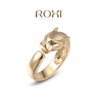 ROXI New Product Fashion Animal Jewelry Wholesale14K Gold Plated Single Ring for Gift