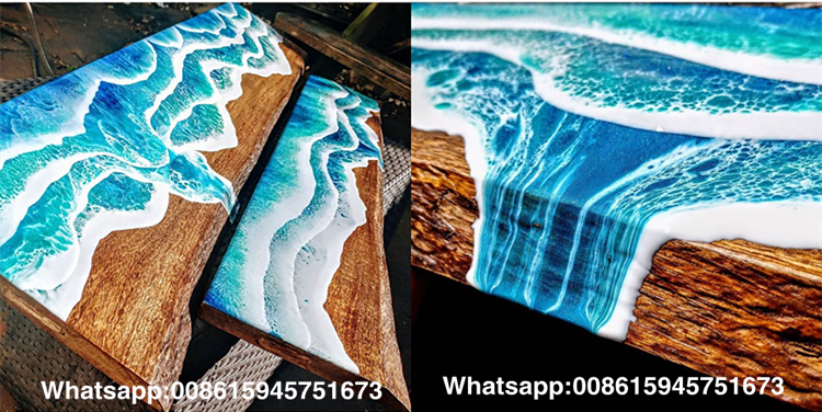 3d Painting Art Clear Epoxy Resin For Wood Tablet Bench Table Resin Liquid  Glue Glass - Buy Epoxy Resin Table,Epoxy Resin Art Pour,Epoxy Resin For