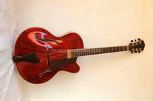Wholesale MUSOO BRAND Handcrafted Archtop Jazz Guitar Electric ...