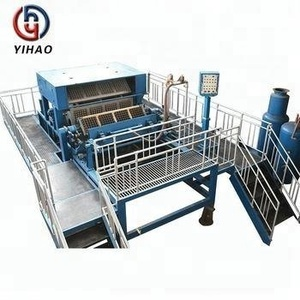High Profit Semi-Automatic Egg Tray Making Machine Metallic Dryer