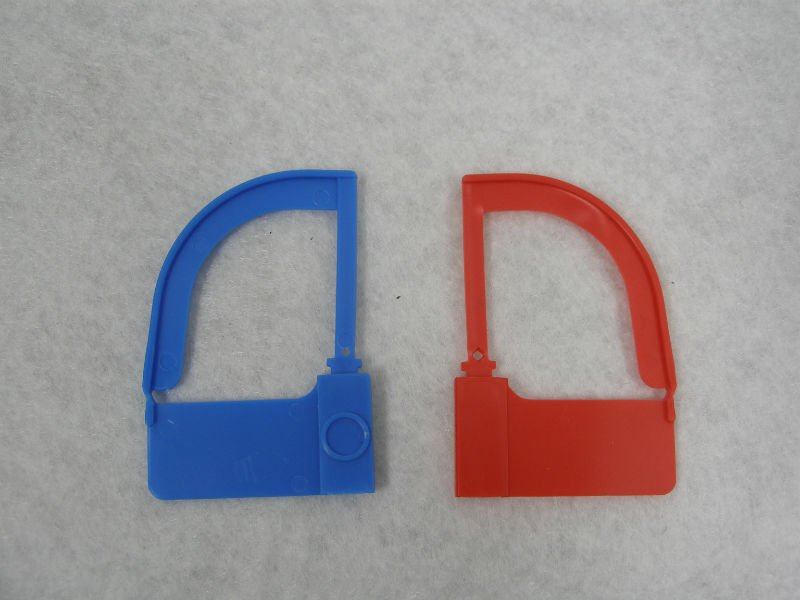 padlock disposable security plastic tag for surgical instruments (C2-660)