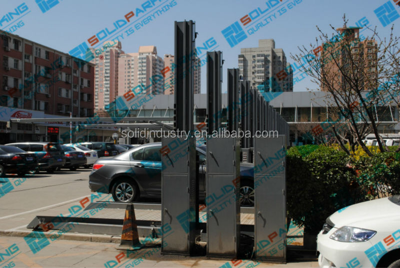 Hot Sale Commercial Grade Design CE Hydraulic Overload Protection Two Post Customized Car Smart Parking