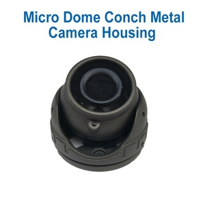 Hot selling car cctv micro mini metal conch small dome camera housing shell case cover