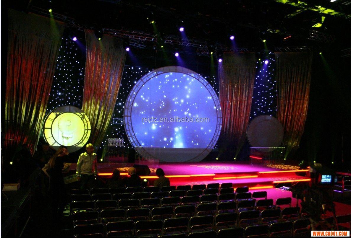 Led curtain concert - A Glamour Starry Sky Led Star Curtain Light