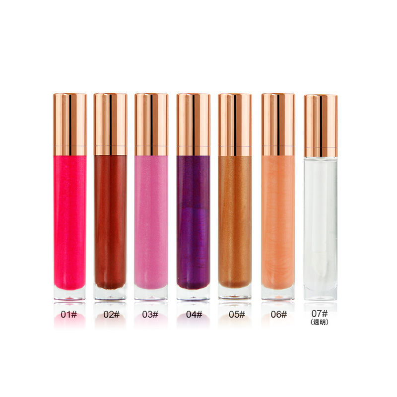 make your own logo hot selling high pigment smoothly moisturizing liquid lipstick lip gloss
