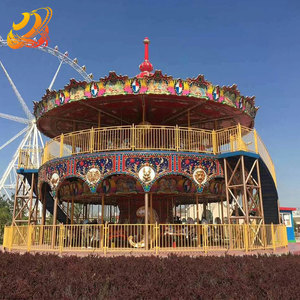Attractive carousel rides big amusement park carousel horses for sale