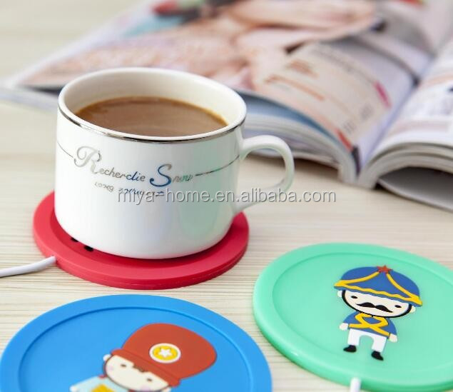 Hot selling cartoon Electric Cup Warmer / usb coffee mug Warmer / USB Cup Warmer