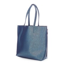 2017 Top Kwaliteit Metallic PU <span class=keywords><strong>Lederen</strong></span> Side Zip <span class=keywords><strong>Shopper</strong></span> Draagtas