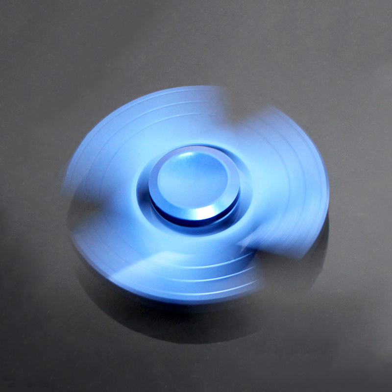 New arrival jante glow in the dark fishing spinner led toy
