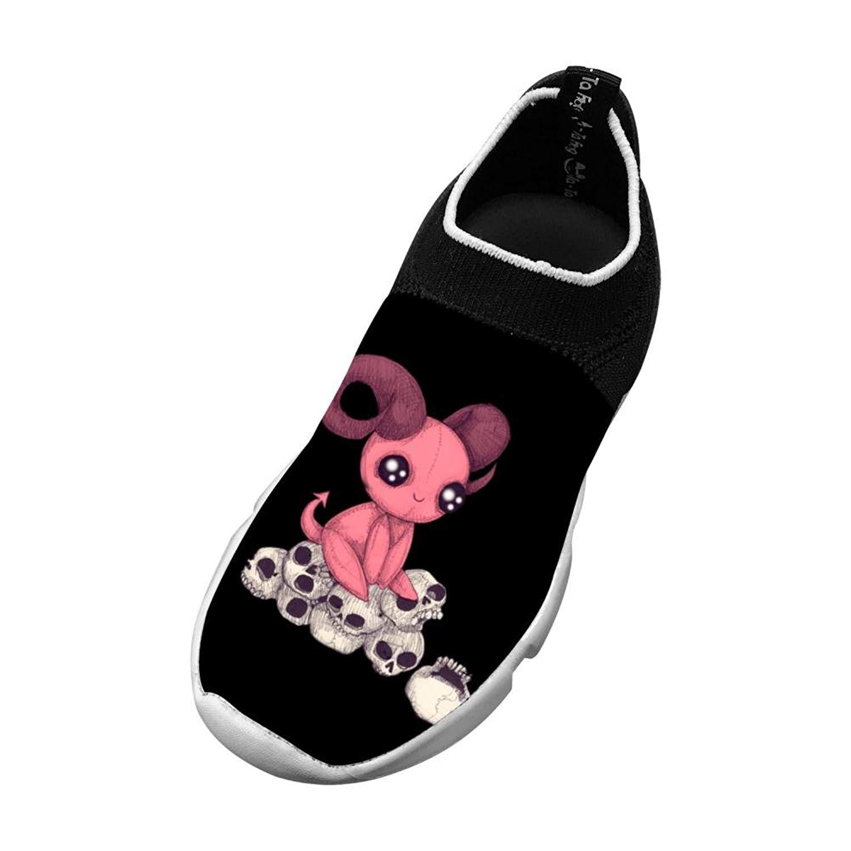 Ouxioaz womens Skateboarding Shoes Canvas pink horses Sport Sneaker