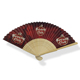 Ivory color bamboo folding hand fans