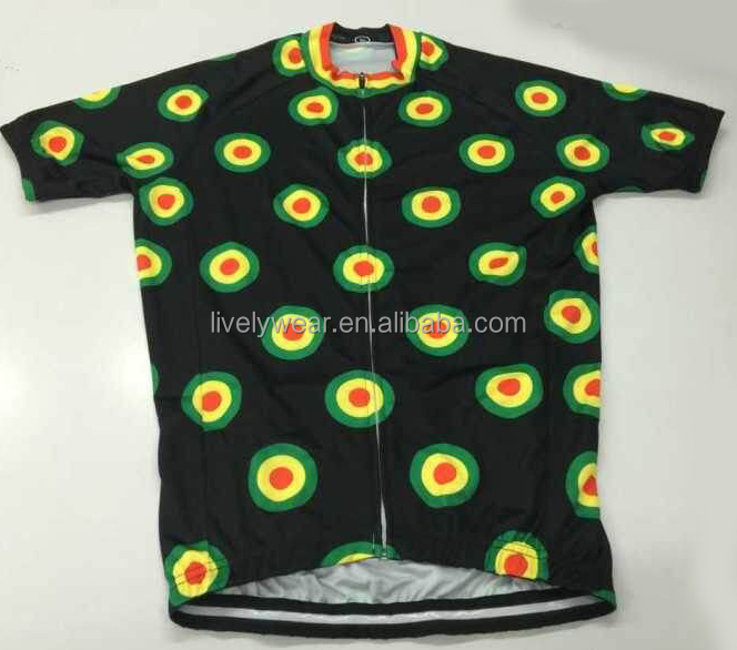 Livelywear -- newest coolmax OEM sublimation funny bicycle wear/ bike uniform/cycling jersey