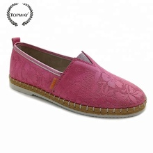 Western latest design women flat casual comfortable ladies fashion shoes