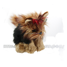 Bearington <span class=keywords><strong>Peluche</strong></span> Yorkshire Terrier Animale di Pezza Yorkie Puppy Dog