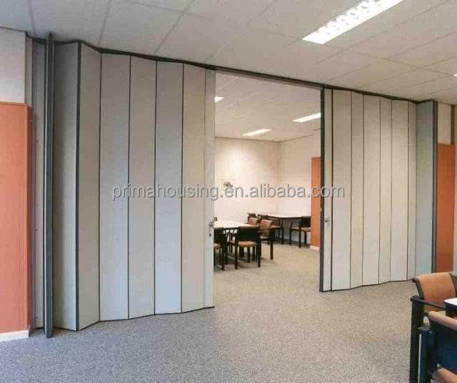 Movable wooden acoustic soundproof office partition walls for Movable walls room partitions