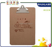 A5 Size Wood Clipboard And Logo Printing With Office,Hospital ...