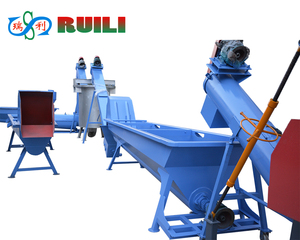 High Efficiency Plastic Bottles Polystyrene Recycling Machine