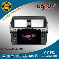 whole sale car dvd for 2014 Toyota Prado car radio dvd tv tuner with bluetooth USB IPOD TV AD-6819