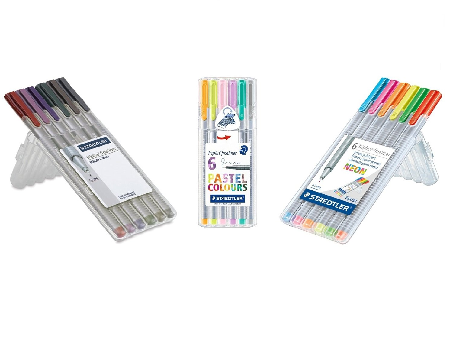 Cheap Pens Staedtler Find Deals On Line At Alibabacom Triplus Color Fibre Tip Pen 323 20 Magenta Get Quotations Fineliner 18 Pastel Neon And Nature Set