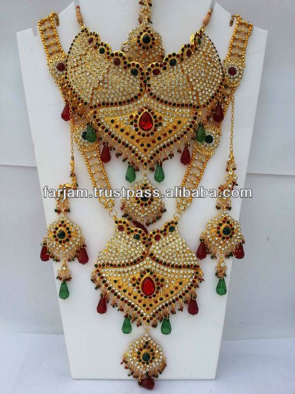 Indian Bridal Jewelry Set - Buy Indian Bridal Jewelry Set,Bridal ...