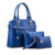 2017 new products whosales designer brand names fashion pu leather hand bag for women, woman hand bag
